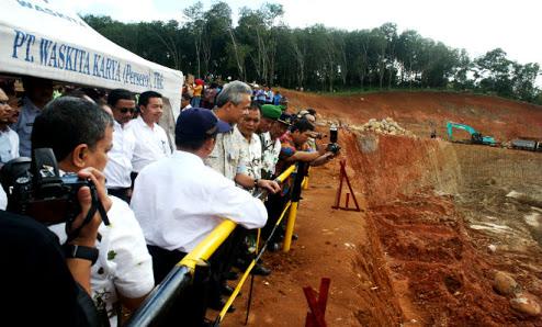 Pembangunan Waduk Gondang Belum Sentuh Lahan Warga